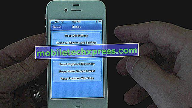 Hoe de iPhone te herstellen naar de fabrieksinstellingen