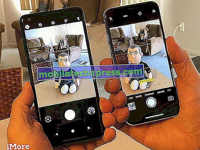 Come scattare foto utilizzando la modalità verticale su iPhone XS