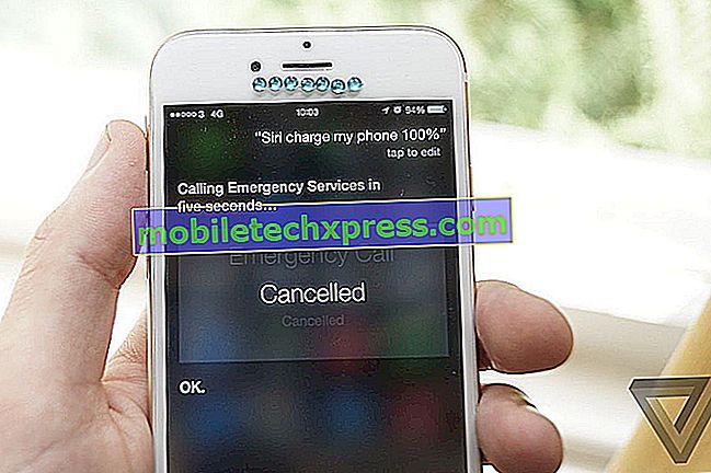 Siri ringer til politiet, hvis du beder om, at din telefon skal opkræves 100%