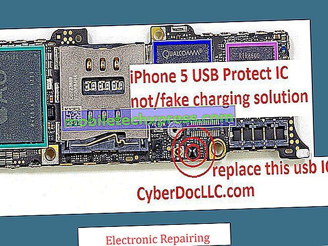 Opløset iPhone 8 Plus oplader ikke