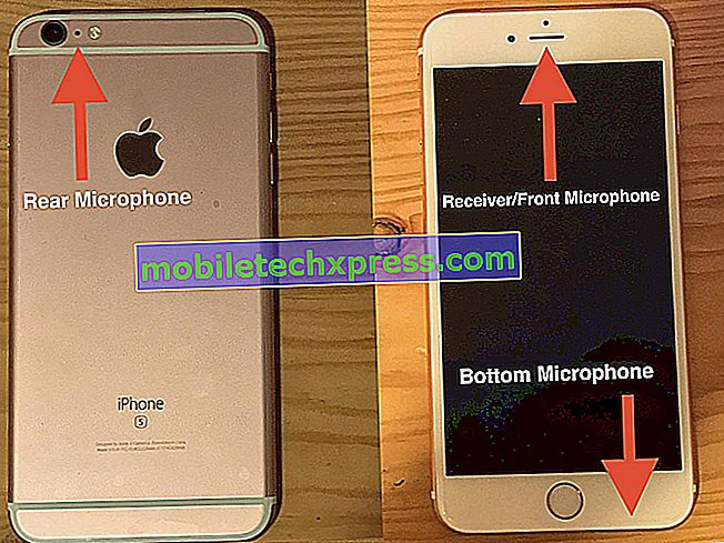 iPhone SE venstre højttaler ikke arbejdsproblem