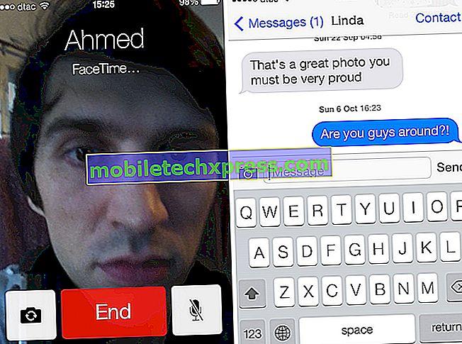 """iPhone 7 """"Při aktivaci došlo k chybě"""" pro iMessage a Facetime"""