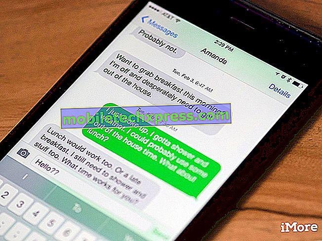 Apple iPhone 7 iMessage Probleem: Waarom werkt iMessage niet op mijn iPhone 7?  [Gids voor probleemoplossing]